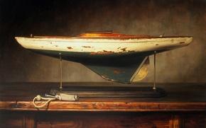 Картинка модель, рисунок, картина, яхта, катер, репродукция, Kyle, Polzin