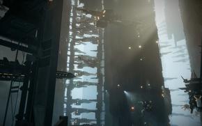 Картинка корабли, верфь, Killzone Shadow Fall