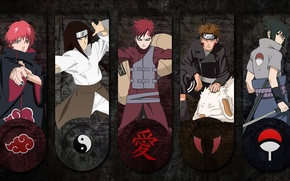Картинка Kiba, sword, logo, game, Sasuke, Naruto, anime, katana, sharingan, ninja, asian, Akatsuki, Uchiha, manga, Uchiha …