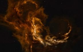 Обои Space, Nebulae, Звезды, Cessare, Кассар, Stars