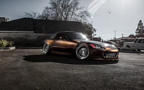 Картинка спорткар, Honda, хонда, tuning, S2000, frontside