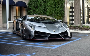Картинка Lamborghini, supercar, parking, veneno