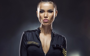 Картинка sexy, police, female, uniforn