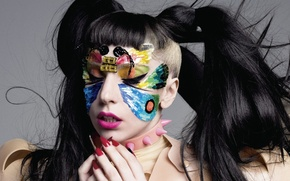 Картинка цвета, фотосессия, Леди гага, Lady Gaga