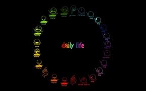 Обои день, life, deviantart, ennokni, daily