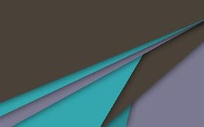 Картинка линии, голубой, геометрия, коричневый, design, color, material