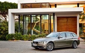 Картинка бмв, BMW, универсал, Touring, F31, Luxury Line, 330d, 2015