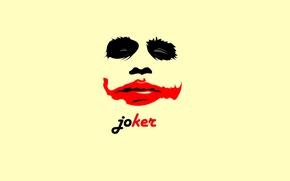 Обои красный, фон, джокер, обои, черный, black, Joker