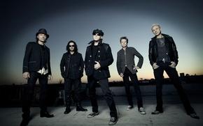 Обои skorpions, серый, рок, музыка