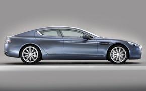 Картинка Aston Martin, Rapide, профиль, суперседан