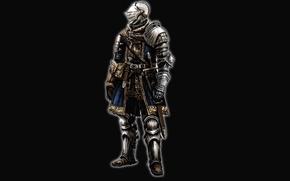 Обои Dark Souls, full medieval armor, warrior