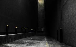Картинка серый, стены, переулок