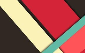 Картинка desing, черный, малиновый, линии, color, розовый, material, геометрия, голубой, wallpaper
