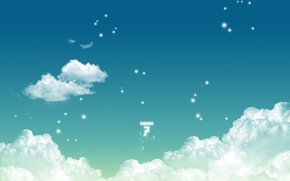 Картинка clouds, windows seven 7 style