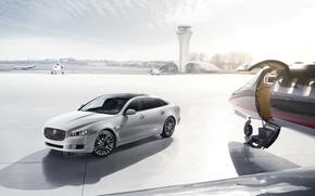 Картинка Hangar, Plane, Jaguar XJ Ultimate