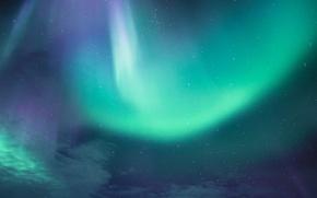Картинка mountains, northern lights, aurora borealis