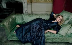 Картинка певица, фотосессия, поэт, композитор, Adele, Адель, Vogue, 2016, Adele Laurie Blue Adkins, контральто