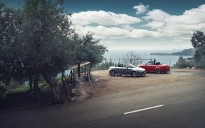 Картинка Audi, Roadster, Red, Cars, Quattro, Spain, Silver