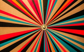 Обои цвет, линии, лучи, шестигранник, краски