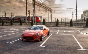 Картинка вагон, парковка, Toyota, GT86, Rocket, Bunny
