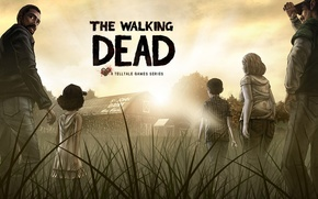Картинка игра, зомби, The Walking Dead, The Walking Dead: The Game, Telltale Games