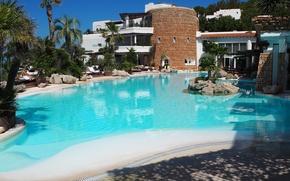 Картинка бассейн, Ibiza, Ибица, гасиенда, Hacienda Na Xamena