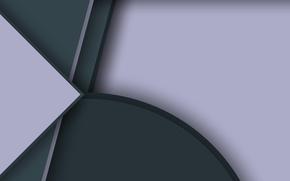 Картинка серый, геометрия, color, material, Lollipop