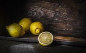 Картинка фон, фрукты, лимоны