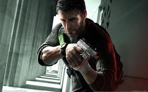 Обои пистолет, агент, Оружие