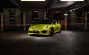 Картинка купе, 911, Porsche, порше, TechArt, Targa, тарга