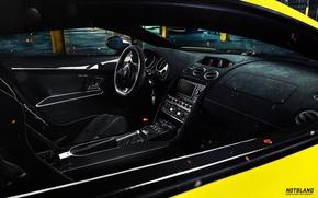 Картинка Lamborghini, карбон, Superleggera, Gallardo, ключи, салон, LP 570-4, магнитола, notbland, Webb Bland