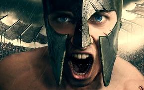 Картинка арт, крик, Urban gladiator