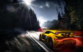 Обои Renault Sport, скорость, трасса