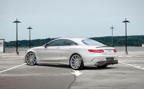 Картинка Mercedes Benz, AMG, coupe, S63, voltage design