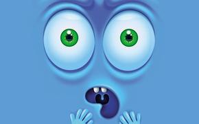 Картинка vector, face, funny, emotion