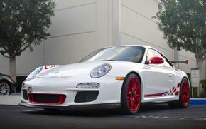 Картинка 911, Porsche, Порше, Автомобиль, Парковка, Суперкар, GT 3