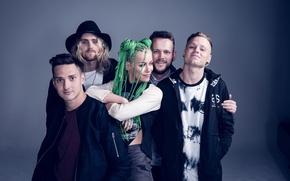 Картинка Pop Punk, Jenna McDougall, Tonight Alive, Дженна МакДугалл, Matt Best, Whakaio, Jake Hardy, Cam Adler