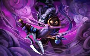 Картинка art, dota 2, riki, moba, Stealth Assassin