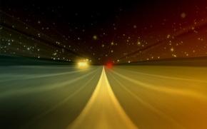 Картинка дорога, линия, Скорость