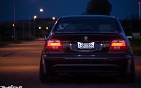 Картинка BMW, E39, STANCE