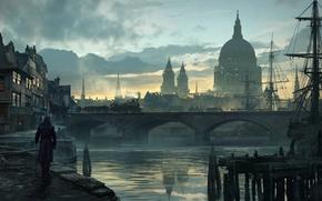 Картинка Лондон, Assassins Creed, Арт, Синдикат, Syndicate, Ubisoft Quebec, Assassin's Creed: Syndicate, Assassin's Creed: Синдикат