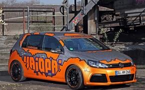Картинка Volkswagen, Racing, Golf, 2014, Cam, Shaft, Haiopai