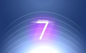 Картинка seven, windows, logo