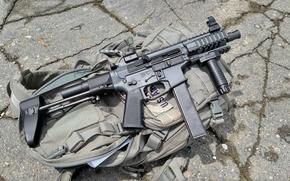 Картинка оружие, Валькирия, штурмовая винтовка, AR-9