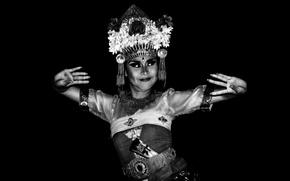 Обои artist, Bali dancer, movement