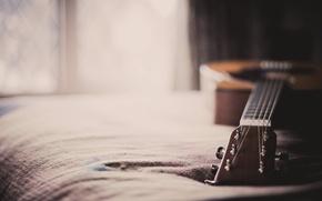 Обои макро, дом, гитара