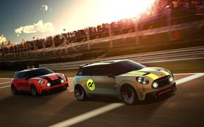 Картинка car, Vision, race, Gran Turismo, Mini Clubman