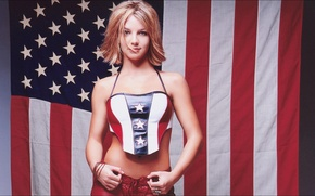 Картинка music, Britney Spears, wallpapers, Girls, flag