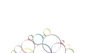Картинка узор, краски, круг, кольцо