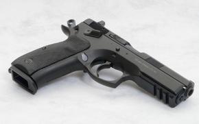 Картинка Пистолет, Обои, Оружие, Gun, Wallpapers, Weapons, СП-01, Чешская республика, SP-01
